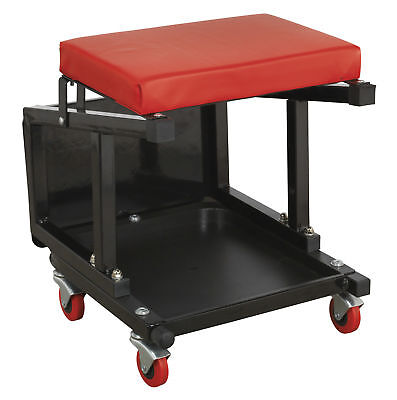SCR16 Sealey Mechanic's Utility Seat & Step Stool [Creepers & Seats]