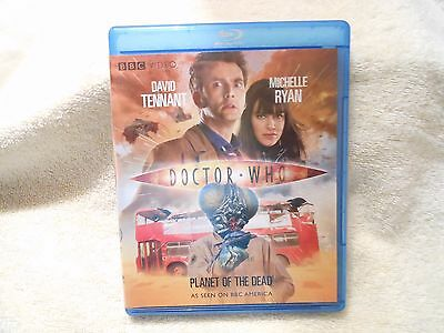 Doctor Who: Planet of the Dead (Blu-ray Disc, 2009)**LIKE NEW** **GENUINE**