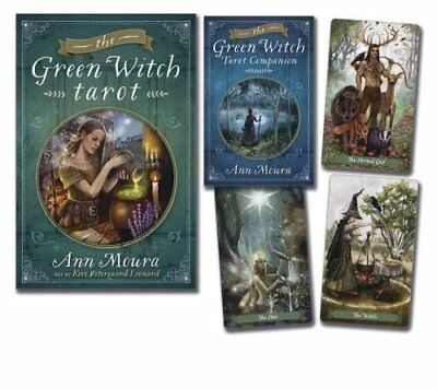 The Green Witch Tarot by Ann Moura 9780738741659 (Mixed media product, 2015)