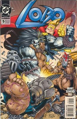 Lobo (1993 2nd Series DC) #5 VF STOCK IMAGE