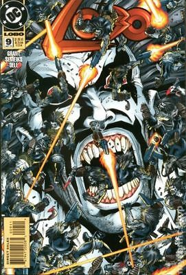 Lobo (1993 2nd Series DC) #9 VG STOCK IMAGE LOW GRADE