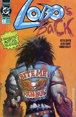 Lobos Back (1992) #1 VF STOCK IMAGE