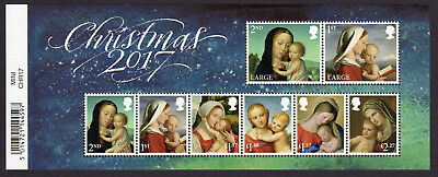 2017 CHRISTMAS Mini Sheet Mint - WITH BARCODE MARGIN MS4027