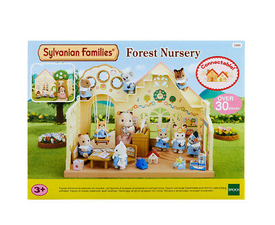Sylvanian Families Baby & Child Theme 5100 Forest Nursery /3+ Brand New In Box