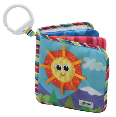 LC27126 Lamaze Classic Discovery Book 8 page Soft Textures Baby Infant Age 0m+