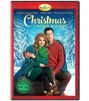 HALLMARK CHRISTMAS UNDER WRAPS DVD CANDACE CAMERON BURE NEW HOLIDAY Movie