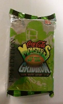 Coca Cola COLLECTOR CARDS--Monsters of the Gridiron Set (1994) Unopened 30 cards