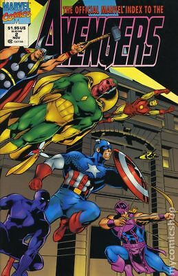 Official Marvel Index to the Avengers (1994) #2 FN STOCK IMAGE