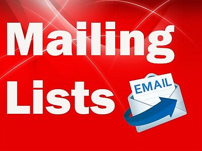UK Doctors by Specialism (Oct 17) B2B Mailing Email Database List Marketing