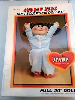 "JENNY Cuddle Kids Soft Sculpture Doll Kit / CK303 20"" / NEW"