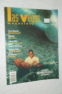 Vintage Original Las Vegas Magazine Fall 1995 Includes Tyson Mgm Grand Etc.