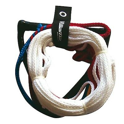 Williams 8 Loop Tournament Water Slalom Ski Rope and TEAM Handle #5606