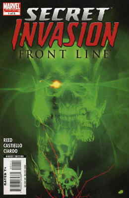 Secret Invasion: Front Line #1 VF/NM; Marvel | save on shipping - details inside