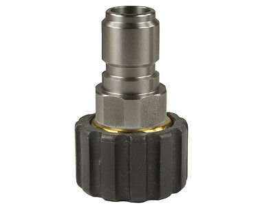 High Pressure Quick Coupling Rapid Snap M22 IG Nipple Socket for Kärcher etc