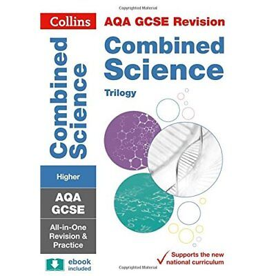 AQA GCSE Combined Science Trilogy Higher Tier All-in-On - Paperback NEW Collins