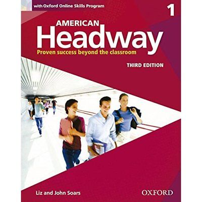 American Headway: One: Student Book with Online Skills: - Paperback NEW  2015-03