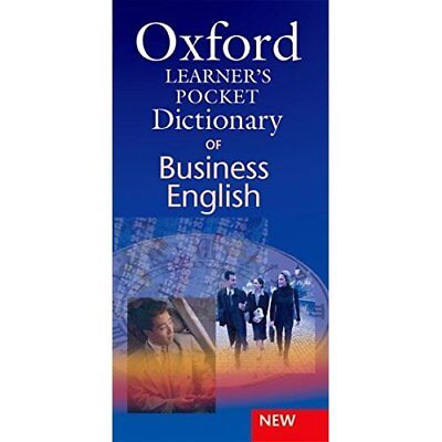 Oxford Learners Pocket Dictionary of Business English - Paperback NEW Parkinson,