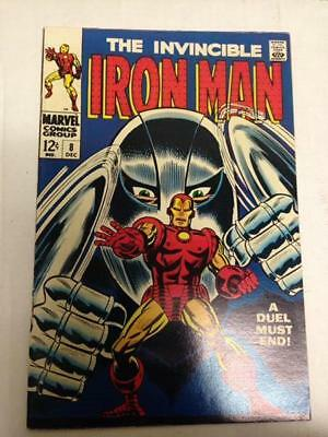 Iron Man 8 December 1968 7.5 Silver Age  Gladiator Appearance