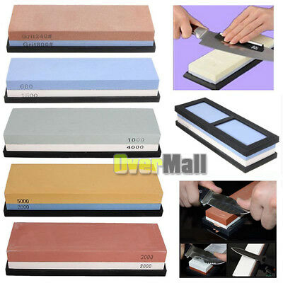 Grit Sharpening Whetstone Water Stone Dual Knife 2000/5000/3000/8000/1000/4000