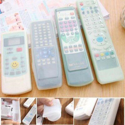 TV Remote Control Waterproof Silicone Gel Anti-dust Skin Protective Cover Case