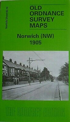 Old Ordnance Survey Maps Norwich Nw Norfolk 1905 Godfrey Edition