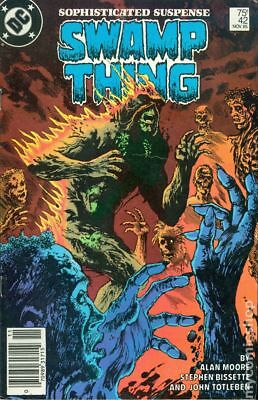Swamp Thing (1982 2nd Series) Mark Jewelers #42MJ VG 4.0 STOCK IMAGE LOW GRADE