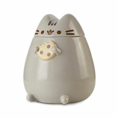 Official Pusheen The Cat Ceramic Cookie Jar Container Biscuit With Lid