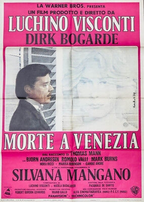 1971 Film Plakat Movie Poster Tod in Venedig Death in Venice Luchino Visconti