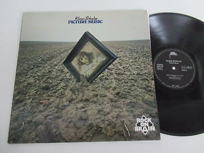 Klaus Schulze/picture Music-Rock On Brain Serie-Lp 1979 Metronome Brain 0040.146