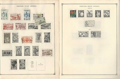 Guinea Collection 1892 to 1993 on Scott International Pages, Around 40 Pages