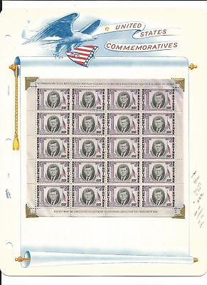 Guinea Collection, John F Kennedy, 6 White Ace Pages Mint NH Sets, Sheets