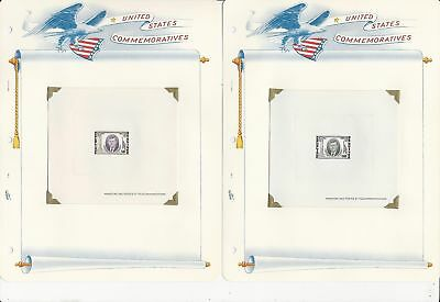 Guinea Collection, John F Kennedy, 4 Pages Mint NH, 325-7, C56 Die Sheets