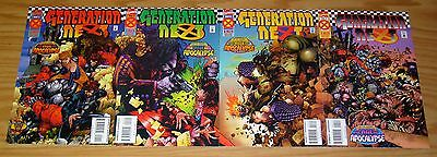 Generation Next #1-4 VF/NM complete series AGE OF APOCALYPSE chris bachalo 2 3 X