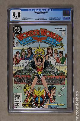 Wonder Woman (1987 2nd Series) #1A CGC 9.8 1395952003