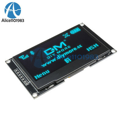 """2.42"""" inch Blue OLED Display SSD1309 128x64 SPI/IIC Serial Port For Arduino C51"""