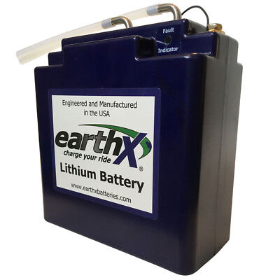 Lithium Battery EarthX ETX900-VNT In Cabin Aircraft Battery Meets DO-347