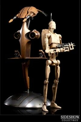 Star Wars S.T.A.P. STAP & Battle Droid Sideshow 1/6 Sixth Scale Figure Set
