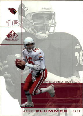 2001 SP Game Used Edition Football Choose Your Cards
