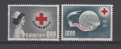 Taiwan,1963 Red Cross.SG474/475. MUH/MNH.Going cheap