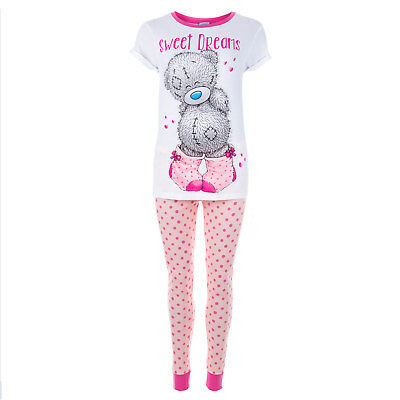 Womens Me To You Tatty Teddy Love Pyjamas In Pink From Get The Label