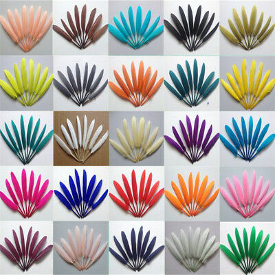 50/100pcs natural goose feather 4-6inches/10-15cm DIY Clothing & Accessories