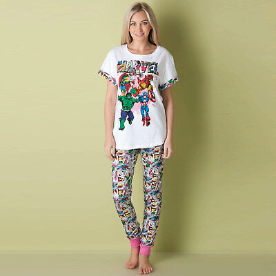 Womens Marvel Pyjamas In Multi From Get The Label