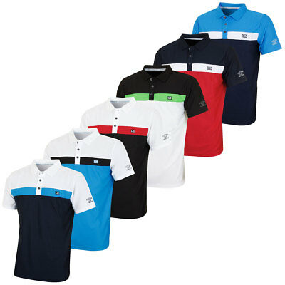 Cutter & Buck 2017 Mens DryTech Color Block Short Sleeve Performance Polo Shirt