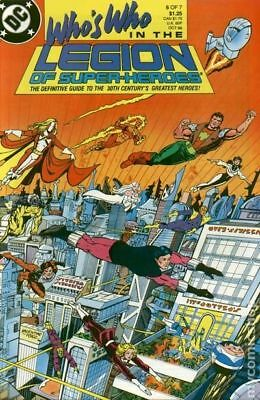 Who's Who in the Legion of Super-Heroes (1988) #6 FN+ 6.5 STOCK IMAGE