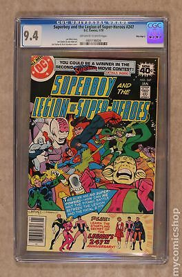 Superboy (1949-1979 1st Series DC) #247 CGC 9.4 Mile High II 0931198026