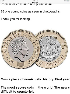 English pounds, pound coins, British pounds, NEW one pound coins, UK, currency
