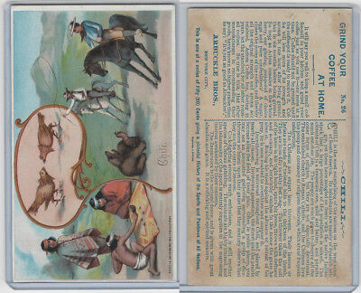 K4 Arbuckle Coffee, History Sports and Pastimes, 1890, #26 Chili