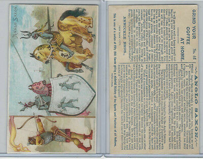 K4 Arbuckle Coffee, History Sports and Pastimes, 1890, #43 Anglo Saxon