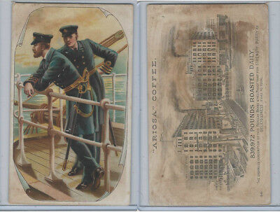 K9 Arbuckle Coffee, General Subjects, 1890, #98 Navy, Ship, Captain