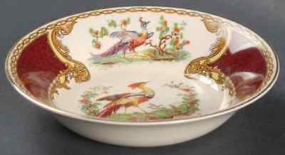 Myott Staffordshire CHELSEA BIRD RED Fruit Dessert (Sauce) Bowl 409022